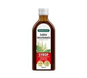 Syrop z babki lancetowatej - Suplement diety