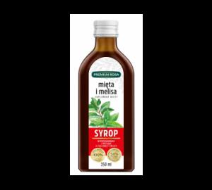 Syrop z mięty i melisy - Suplement diety