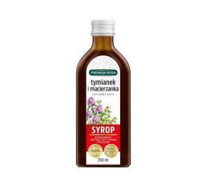 Syrop z tymianku i macierzanki - Suplement diety